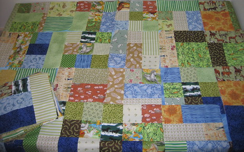Yellow Brick Road farm quilt