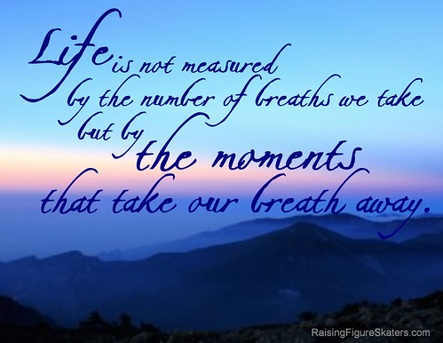 """Life Is Not Measured By The Breaths Quote Captivating The Moments That Take Our Breath Away"""" Wordart Freebie"""