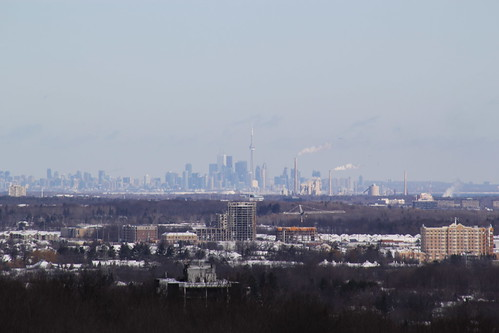 Toronto from afar by Mdrewe