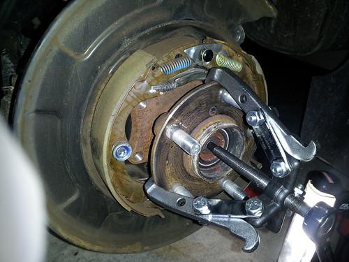 ('09-'13) Rear Wheel Hub/Bearing replacement DIY - Subaru ...