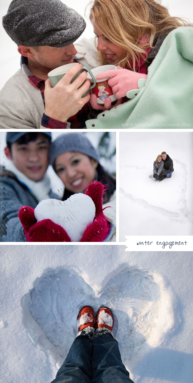winter engagement prebodas invierno