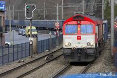 de 6314 crossrail benelux ligne 40 cheratte 2 janvier 2013