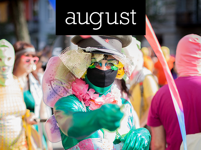 überlin's highlights of 2012: August