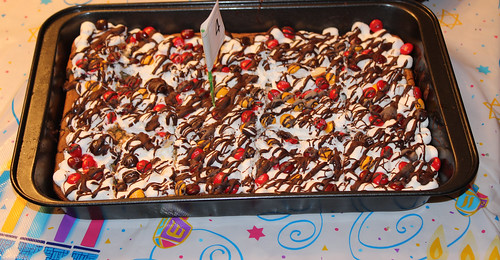 Holiday Smores Bars