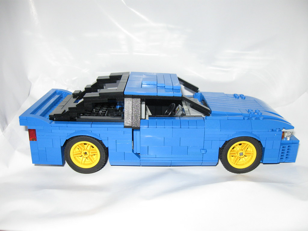 moc initial d nissan sileighty special lego themes eurobricks