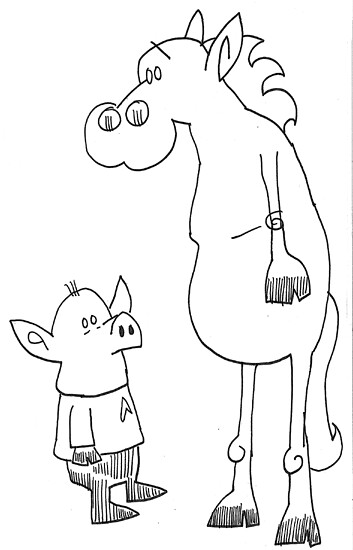 Pig and Horse