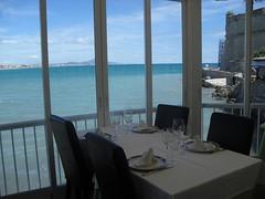 Restaurante Simó, un mirador frente al mar
