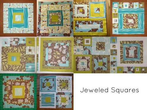 Jeweled Squares mosaic