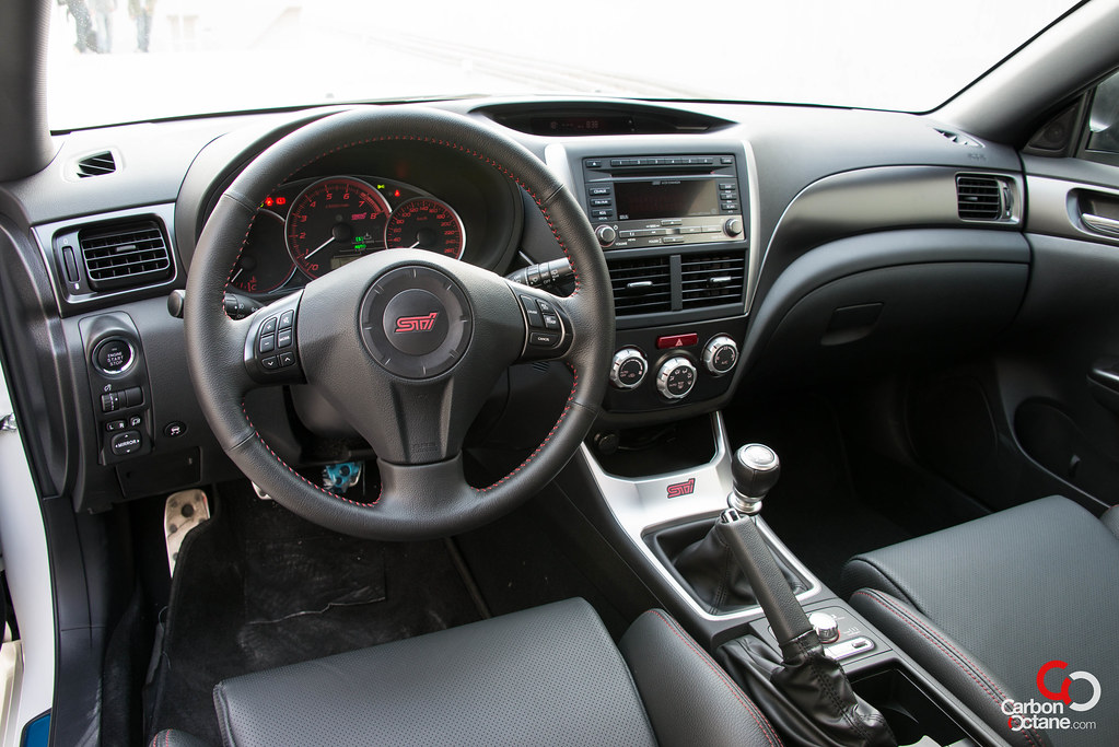 2012 Subaru Wrx Sti Hatchback Review 6 Speed Manual Transmission