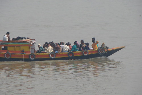 Boating in Ganges... by Anandarup