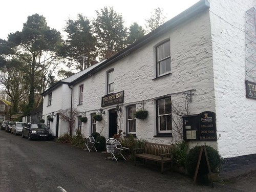 The New Inn Veryan Cornwall Roseland Peninsula