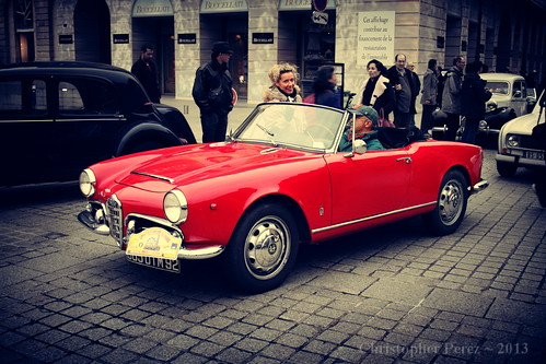 Alfa Romeo ~ Place Vendome ~ la traversee de Paris 2013