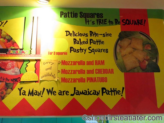 De Original Jamaican Pattie Shop menu-001