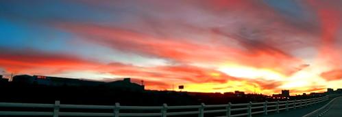 sunset mexico atardecer panoramic panoramica zacatecas