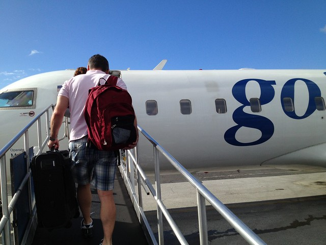 Boarding Go! Airlines