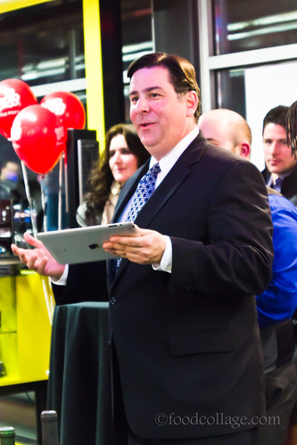Councilman Bill Peduto at Pittsburgh Restaurant Week Kickoff Party