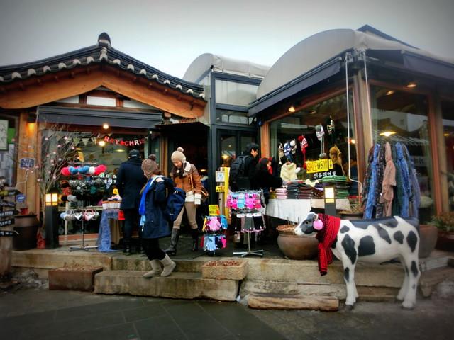 Shops-in-Bukchon