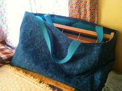 Katie's Quilted Loom Bag