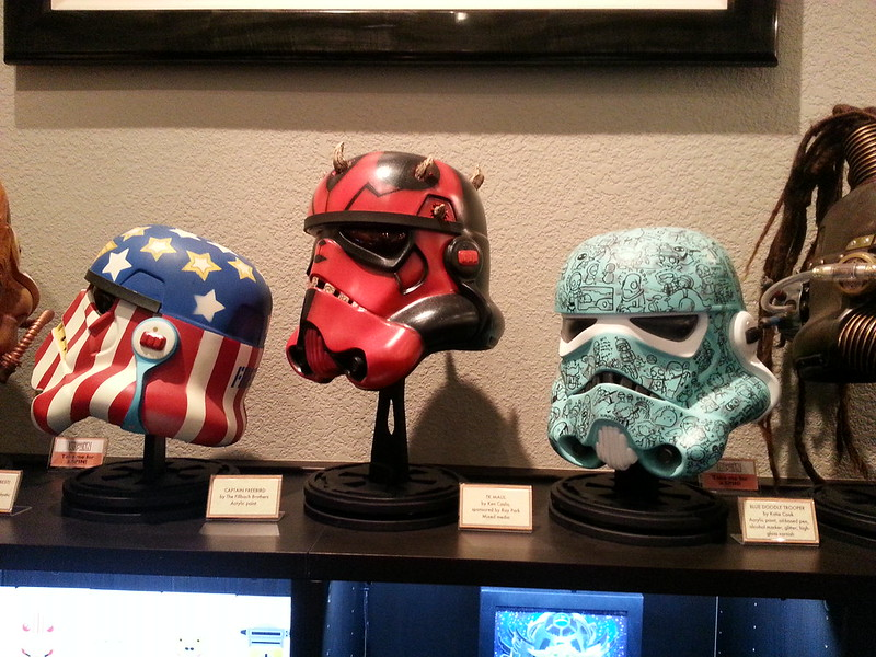 More Trooper Helmets