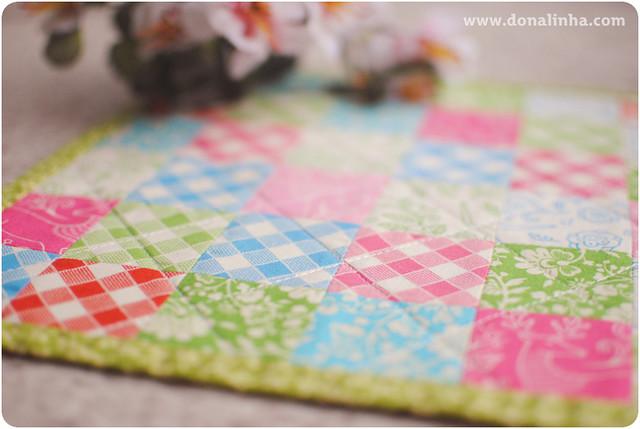 O primeiro patchwork do ano