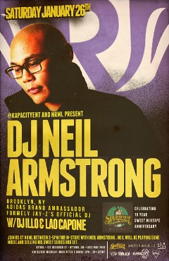 1/26 – Sat – Neil Armstrong back in Ottawa at Ritual , In-store at NRML from 3-5 PM
