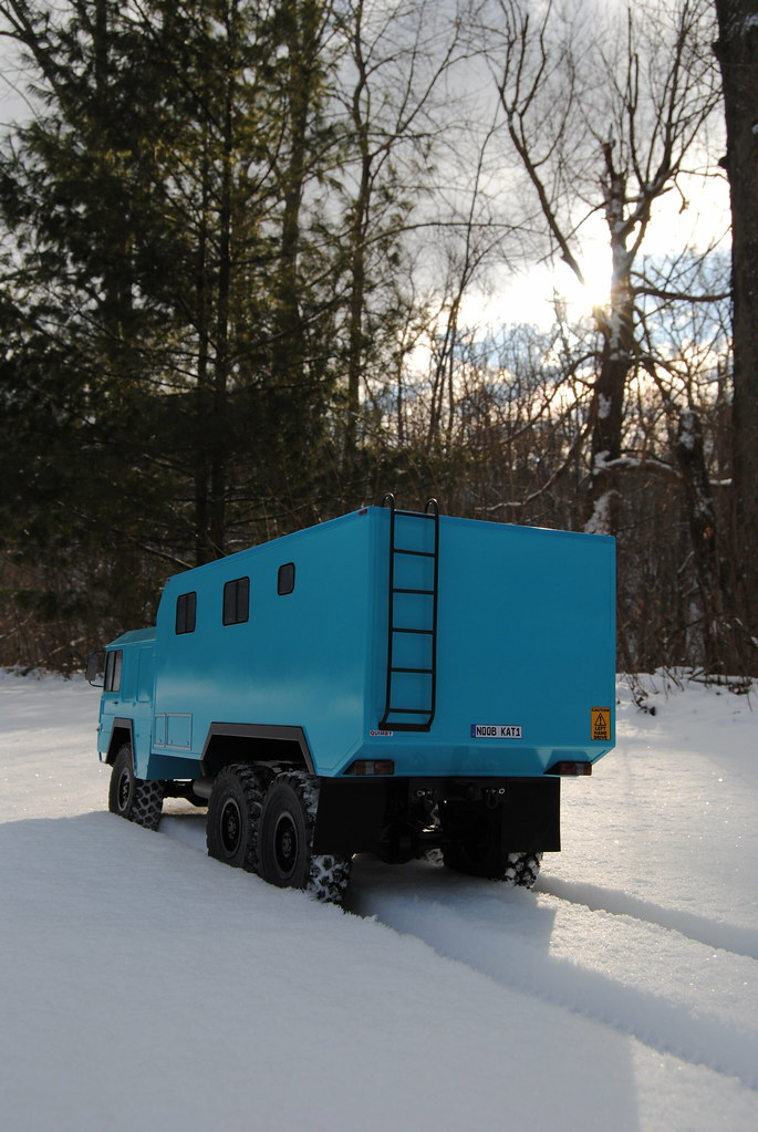 MAN Kat1 6x6 Expedition Camper - Page 3 - RCCrawler