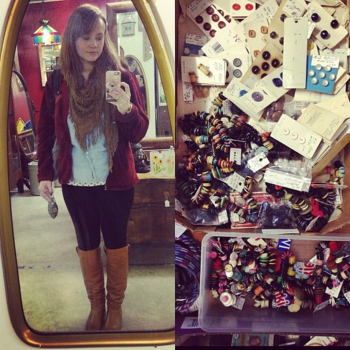 Had fun antiquing yesterday :) #latergram