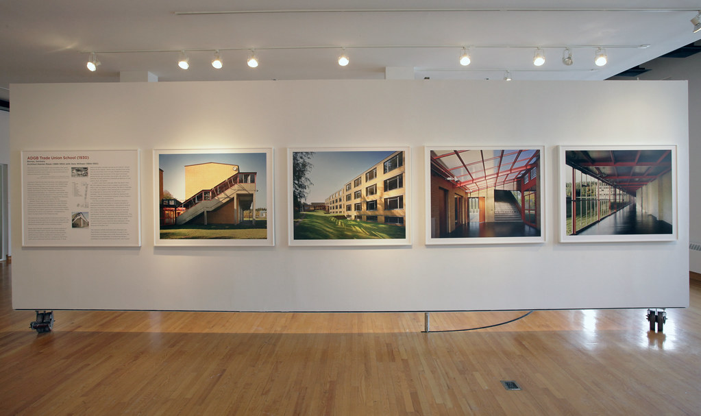 A selection of images showing the ADGB Trade Union School in Bernau, Germany.