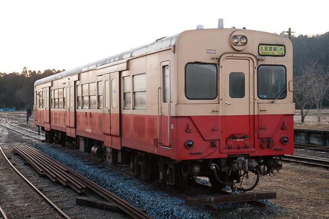 いすみ鉄道国吉駅 キハ30 62