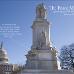 The Peace Monument -- Capitol Hill Washington (DC) January 2013