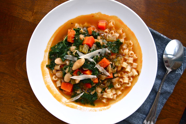 January minestrone, again