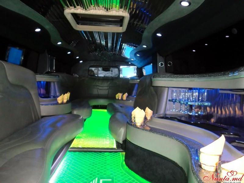 "Прокат лимузинов в Молдове от ""Elitelimo"" > Hummer H-2 2007 Salon"