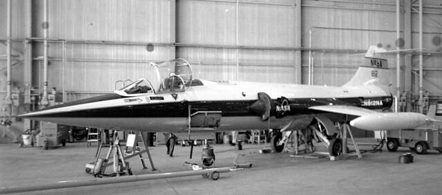 N812NA Lockheed F-104N c/n 183-1006 ex 55-2960