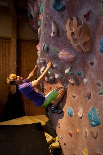 Niseko Climbing wall 2
