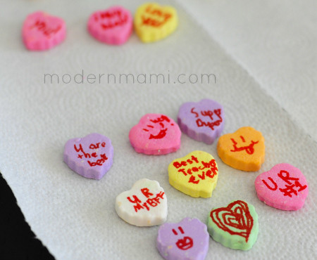 Create Your Own Conversation Hearts