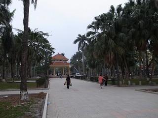 ハイフォンの公園