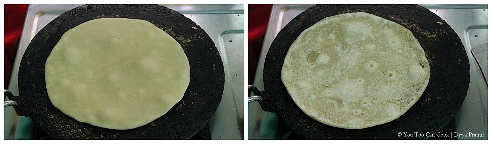 how to cook chapati with eggs