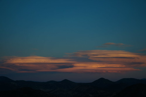 sunset lenticularis