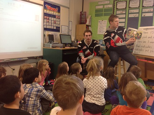 Warriors Read to Us!
