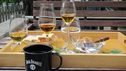 whisky, cigar & coffee