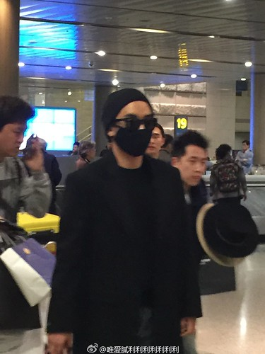 Big Bang - Harbin Airport - 22mar2015 - Seung Ri - 唯愛膩利利利利利利利 - 06