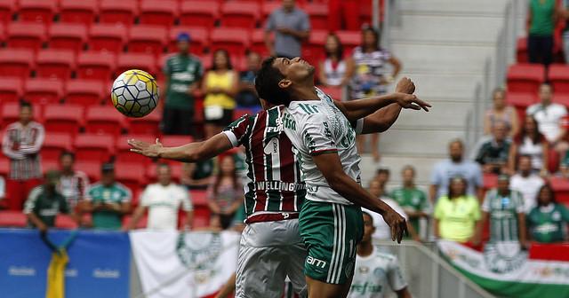 Fluminense é derrotado por 2 a 0 pelo Palmeiras em Brasília