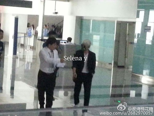 Big Bang - Dalian Airport - 26jun2015 - Selena - 03
