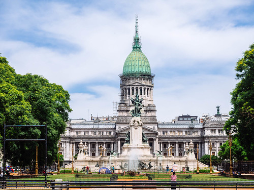 National Congress of Argentina / National Congress of Argentinien