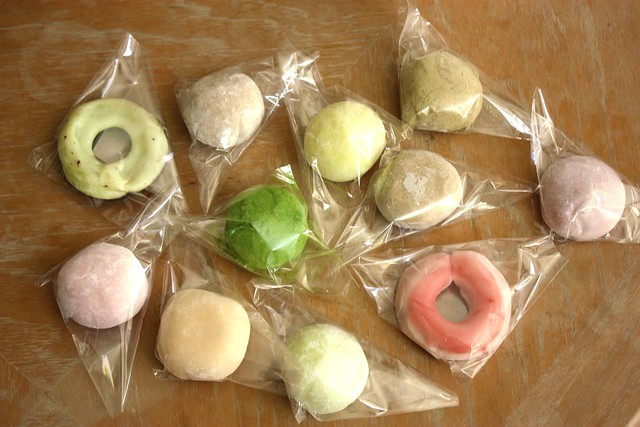 Mochi Cream all prettily packaged