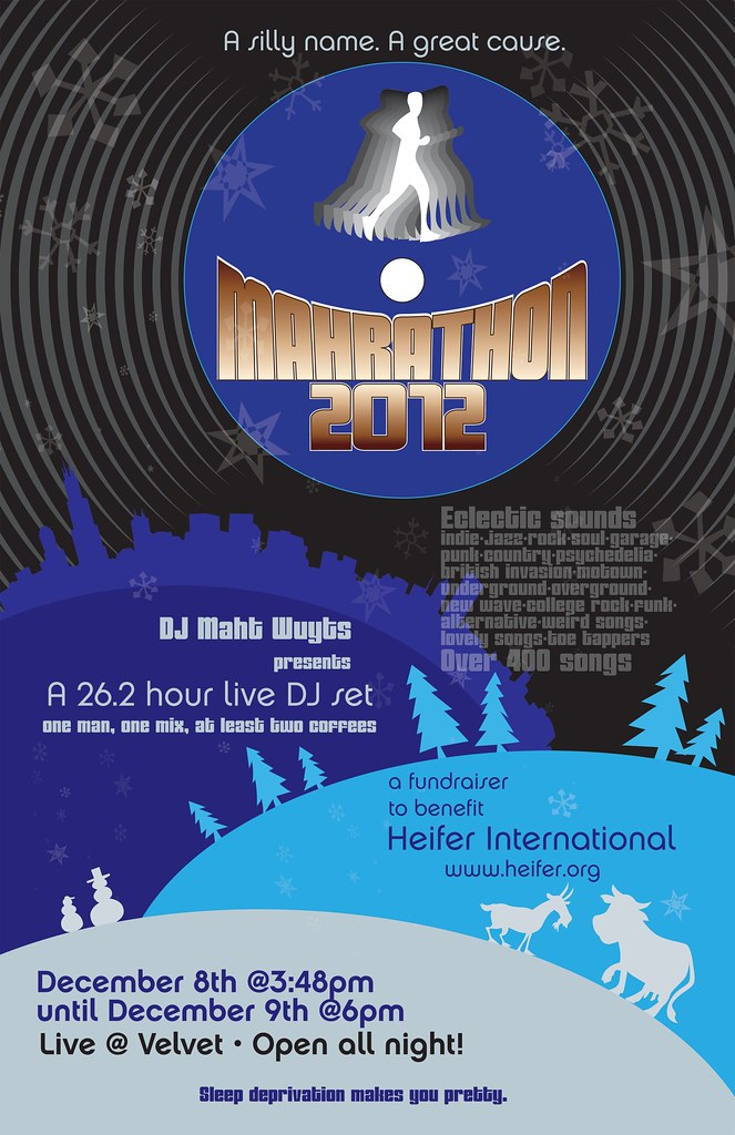 Mahrathon 2012 for Heifer International