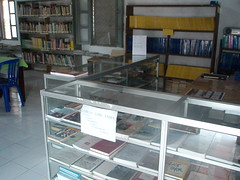 local studies in a public library in Baucau