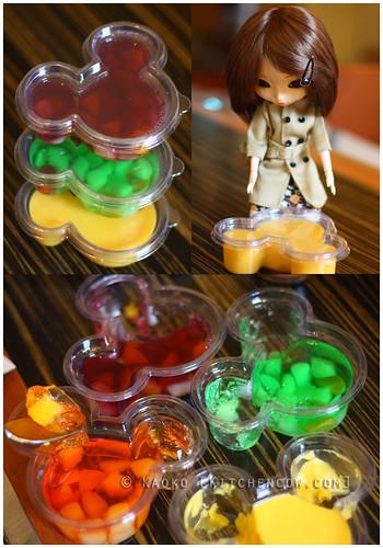 HK Disneyland - Jelly & Pudding