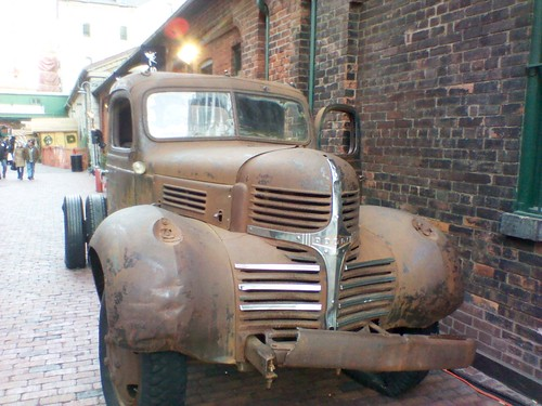 Rusty truck, Distillery District, December 2012 (1)