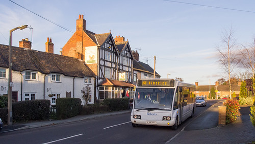 Roberts Coaches YJ06 YPU in Nailstone